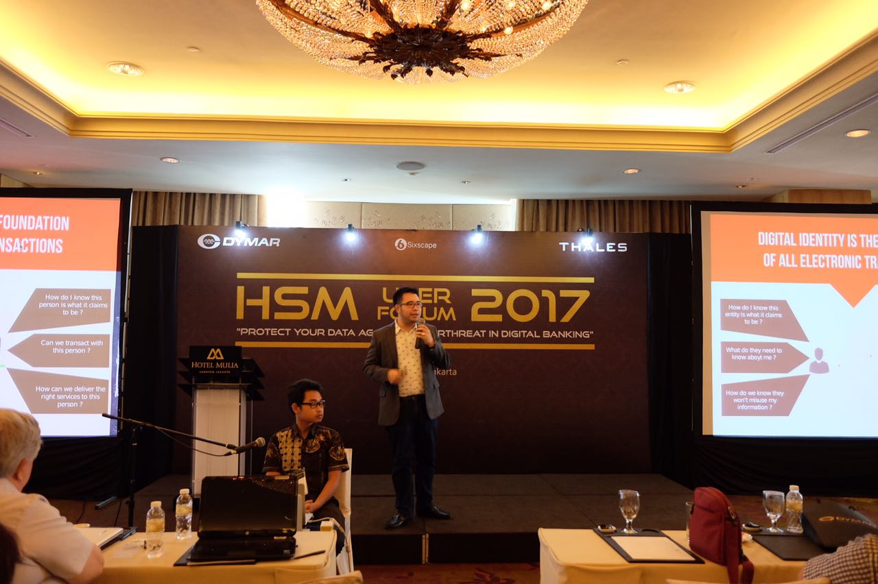 "HSM User Forum 2017 ""Protect Your Data Against Cyberthreat In Digital Banking"""